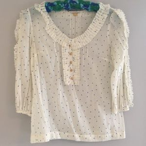 Anthropologie leifsdotter blouse